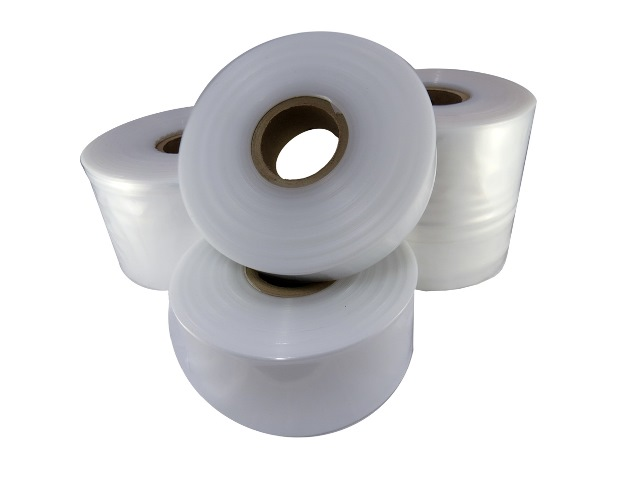 "2 Rolls Of 14"" Wide HEAVY DUTY Layflat Polythene Plastic Tubing 500 Gauge (168 Metres)"
